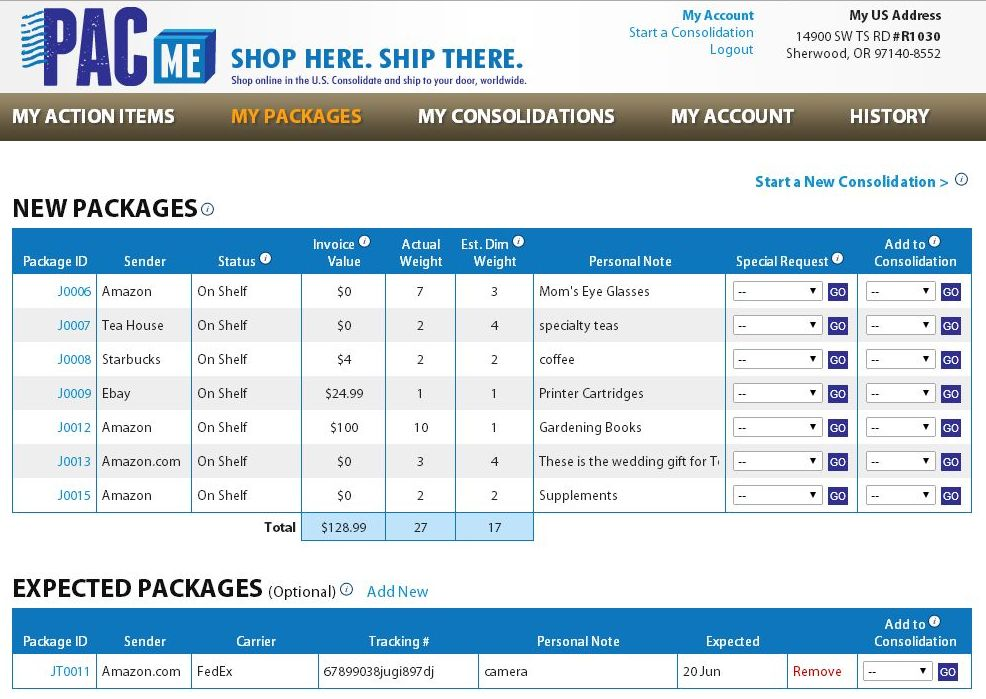 Take A Tour Of PacMe Pacme - Invoice package