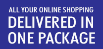 All your online shopping, delivered in one package